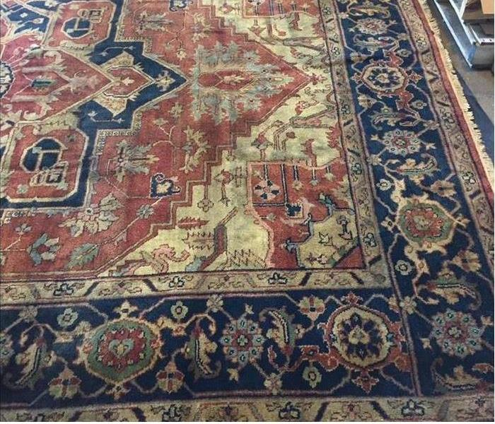 Rug cleaning after storm event After